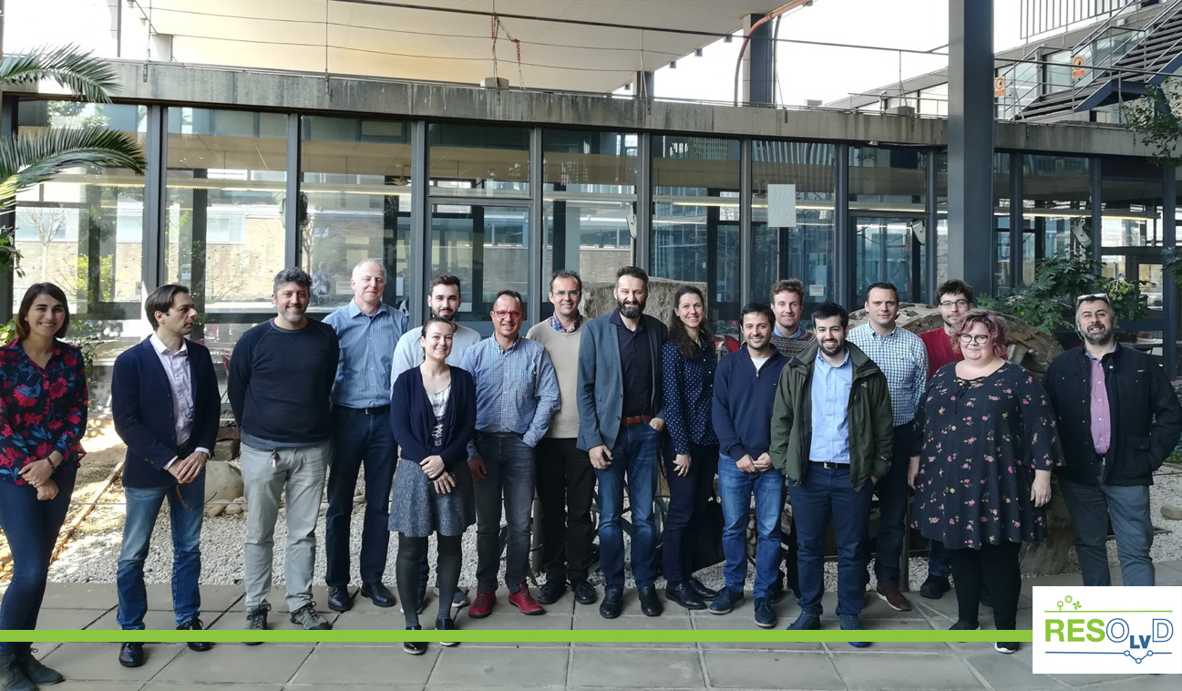 The 4th Global Meeting Of The RESOLVD Project In Barcelona